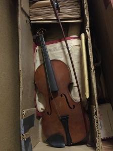 Grandpa John Yess' violin
