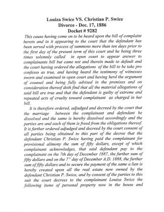 Swise divorce page 1