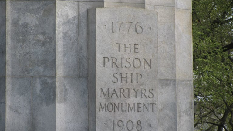 The Prison Ship Martyrs Monument  - Wallabout Bay, NY